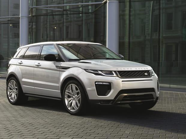 Voitures volées: le Range Rover Evoque plus dérobé que la Smart! [classement 2016-2017]