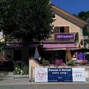 Restaurant : Le Café du Midi - La Violette  - Le bar, l'été -   © MD