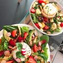 Le Café FauveParis  - Burrata et grande salade -   © Café FauveParis