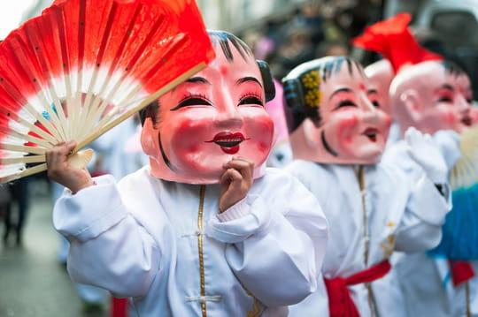 Nouvel An Chinois: défilé à Paris, horoscope chinois, tout savoir
