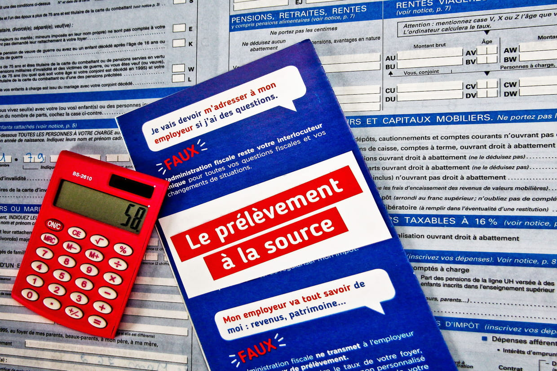 Calcul Des Deductions A La Source Impot Net >> Prelevement A La Source Comment Ca Marche