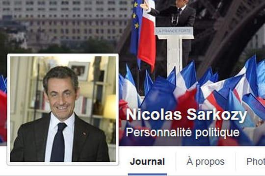 Sarkozy: retour politique sur Facebook, avant France 2et le terrain