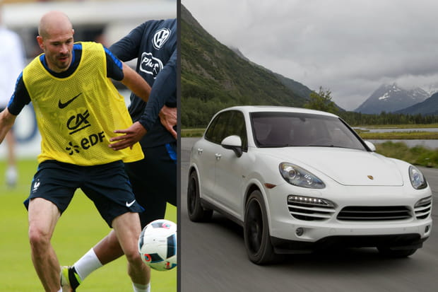 Voiture de Jallet : Porsche Cayenne