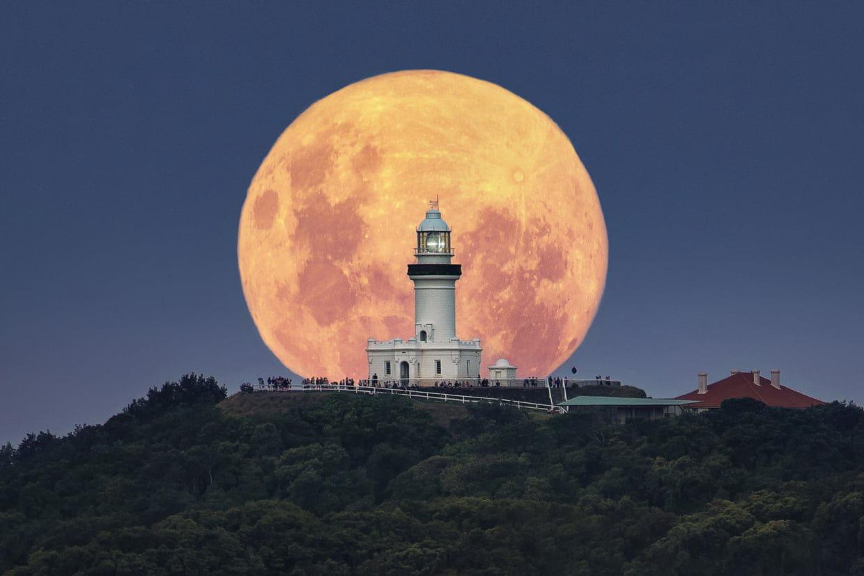 Calendrier Nouvelle Lune 2019.Super Lune 2019 Les Plus Belles Photos De La Trilogie De L