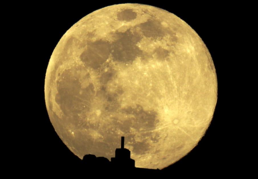 La Super Lune du 21janvier 2019en Espagne