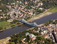 L'Elbe vu du ciel : De Schnackenburg à Hambourg