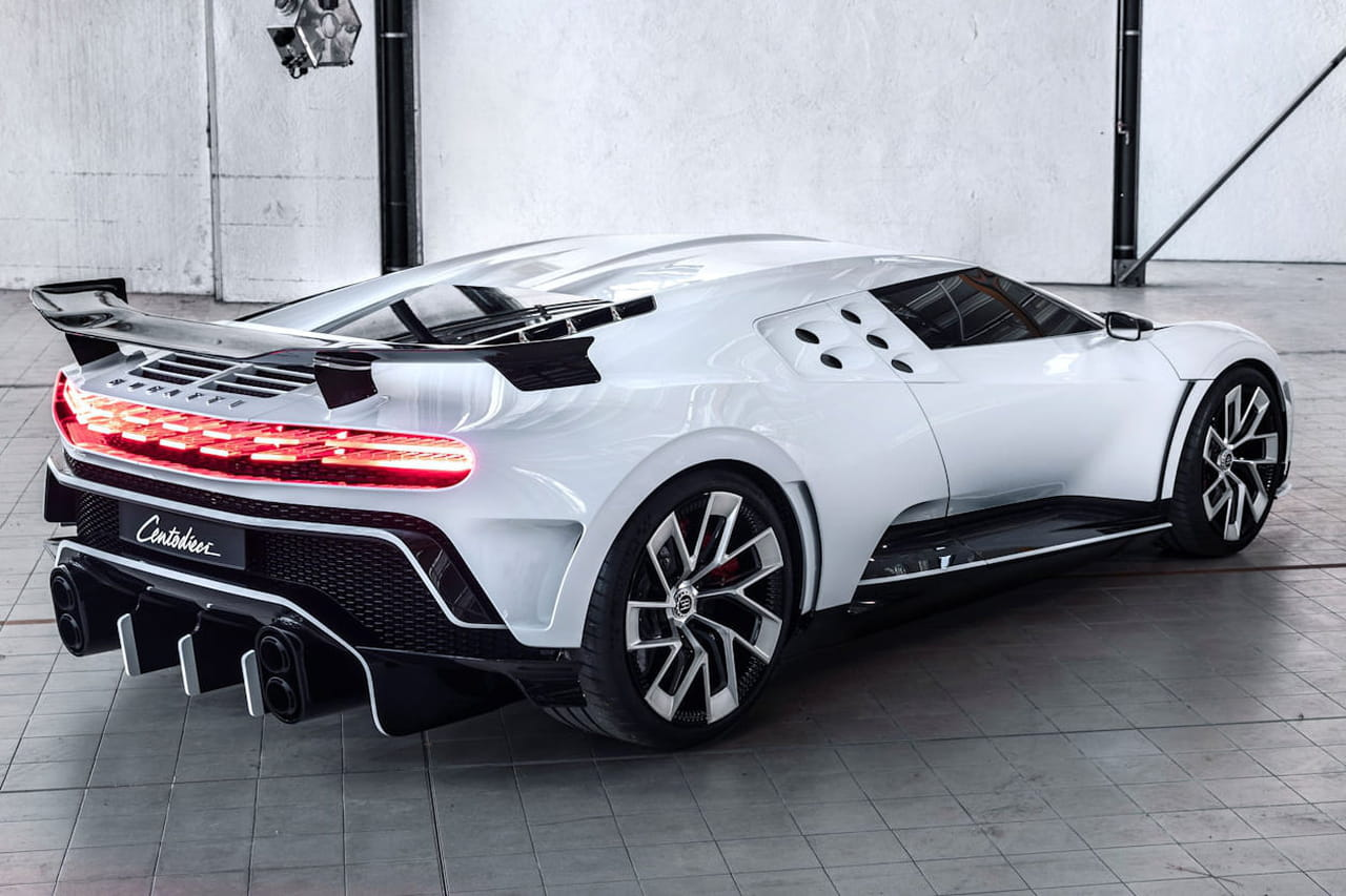 Bugatti Centodieci: les photos de l'hommage à la EB 110, quel prix?