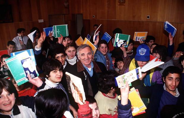"""L'association """"Aznavour pour l'Arménie"""""""