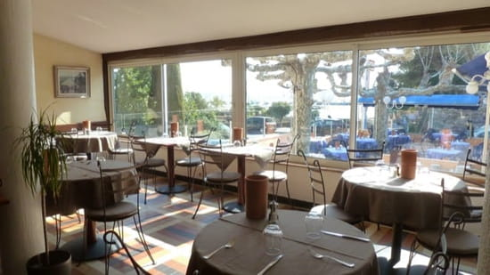 Restaurant : La Calanque  - Salle de restaurant -