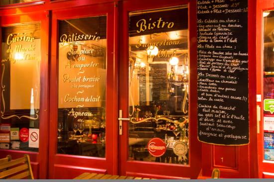 Restaurant : Le Tir Bouchon Montorgueil  - devanture -   © Copyright*