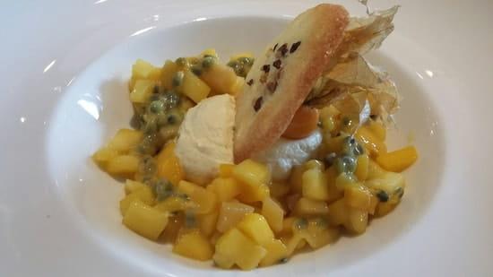 Dessert : Le Moderne  - Tartare de mangue  -
