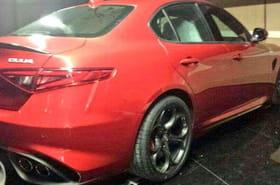 Alfa Romeo Giulia : des clichés surprises avant la présentation