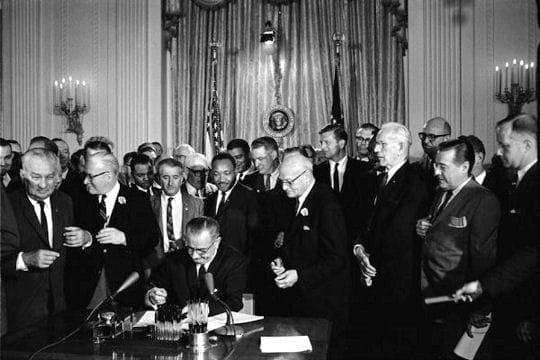 La fin de la ségrégation en 1964