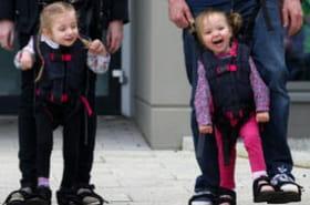 Une invention fait marcher des enfants handicapés