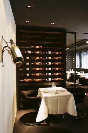 Le Chiberta  - L'œnothèque du restaurant -   © Stevens Fremont