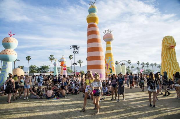 Le décor du Coachella Festival