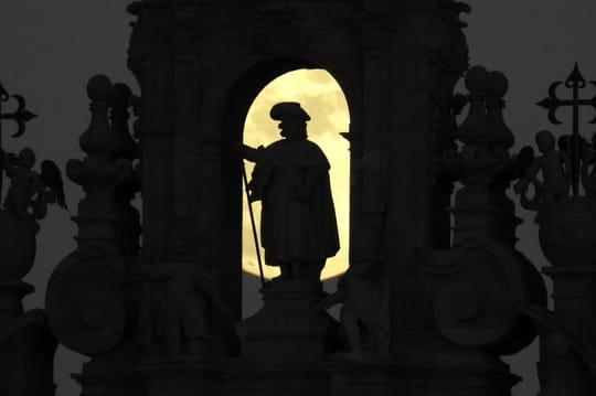 Eclipse de Lune2019: les photos de la Lune de sang du 21janvier