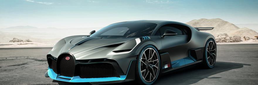 Bugatti Divo: une des supercars les plus chères au monde