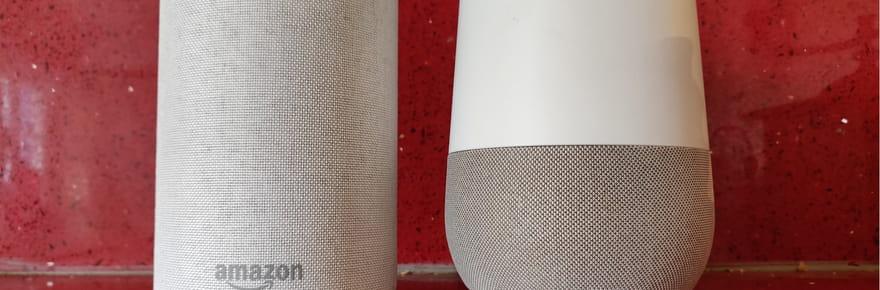 Enceintes connectées: Google Home vs Amazon Echo, le match!