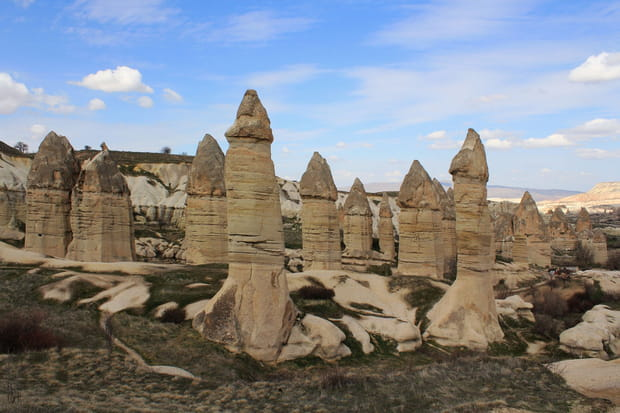 Les Cheminees Des Fees De La Cappadoce En Anatolie