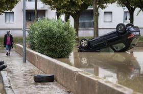 Inondations dans l'Aude: Trèbes, Carcassonne... Des images terribles