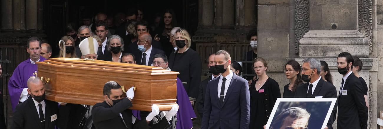 Les photos de l'hommage et des obsèques de Jean-Paul Belmondo