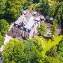 Les Jardins d'Epicure Hôtel/Restaurant Gastronomique  - Vue aérienne du domaine -   © Christophe Bak