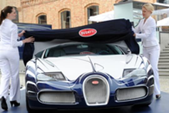 L'Or Blanc: une Bugatti Veyron Grand Sport unique