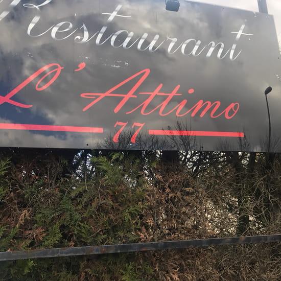 Restaurant : L'Attimo 77