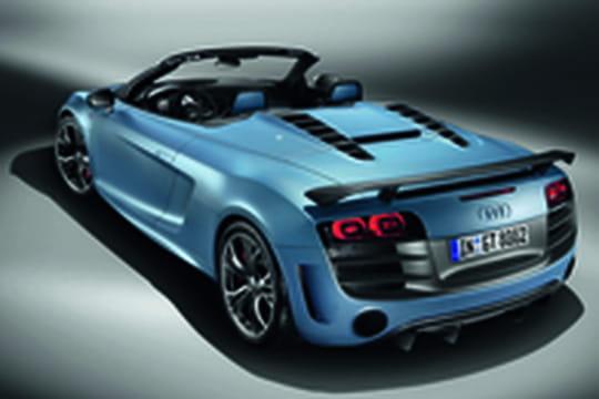 Audi décline sa R8GT en version spyder