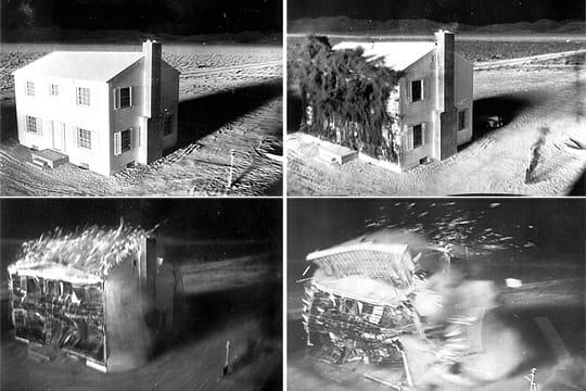 Une maison détruite en 2,3secondes