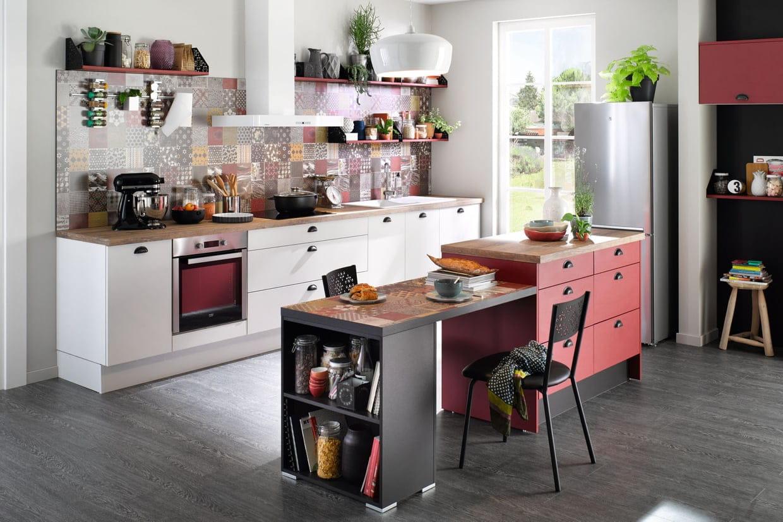 ilot de cuisine comment choisir et fabriquer un lot central. Black Bedroom Furniture Sets. Home Design Ideas