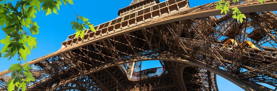 Tour Eiffel: travaux de sécurisation et rénovation, visite du monument