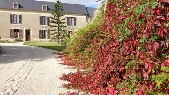 Auberge Paysanne Le Jardin des Aromates  - entrée de l'auberge -