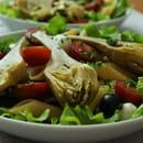 Plat : Au fil de saisons  - Salade penne, artichauts -   © Zdebski