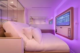 Yotelair: l'hôtel conçu pour les escales àl'aéroport de Roissy
