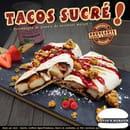 Plat : Luvin's Burger  - Tacos Sucré -   © Luvin's Burger