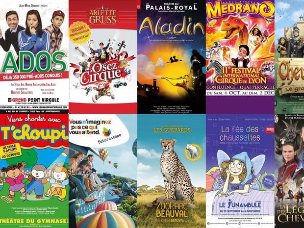 Vacances de la Toussaint: 15spectacles et sorties pour les enfants