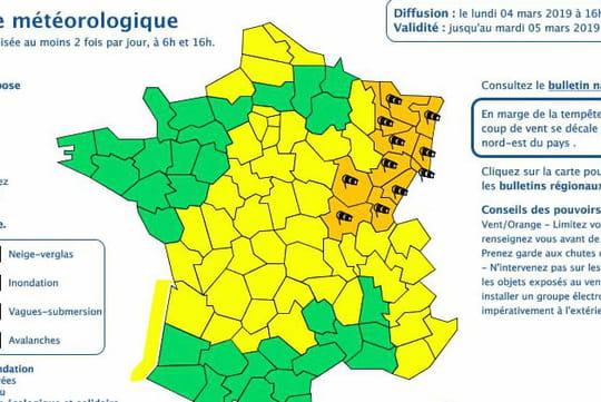 Tempête Freya en France: attention au vent! Les prévisions Météo France