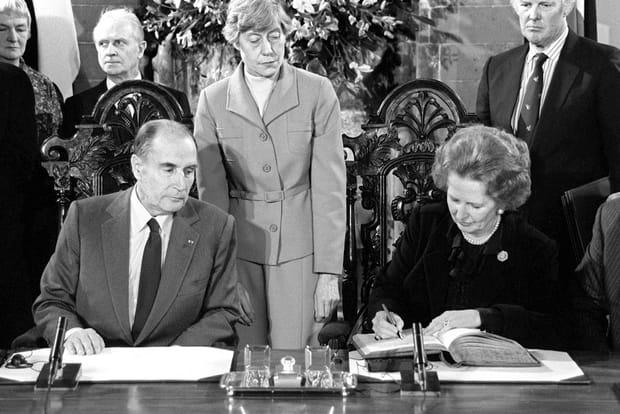 Avec Mitterrand, un pont entre la France et l'Angleterre