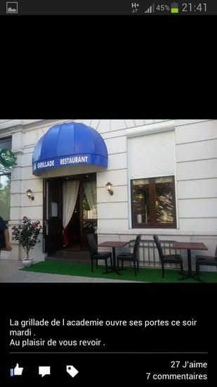 Restaurant : La grillade