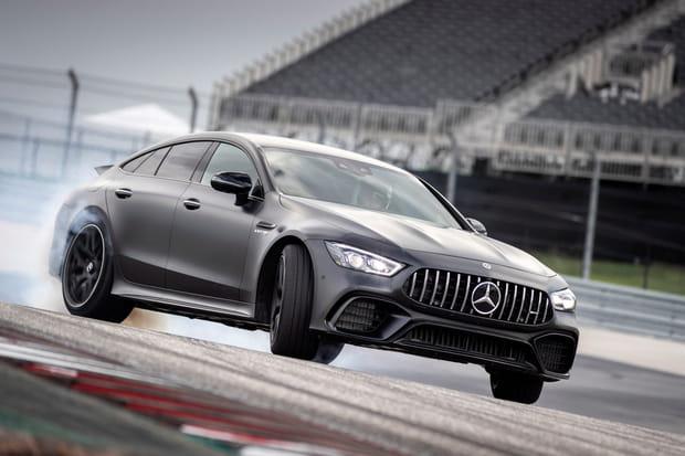 Mercedes AMG GT 4portes