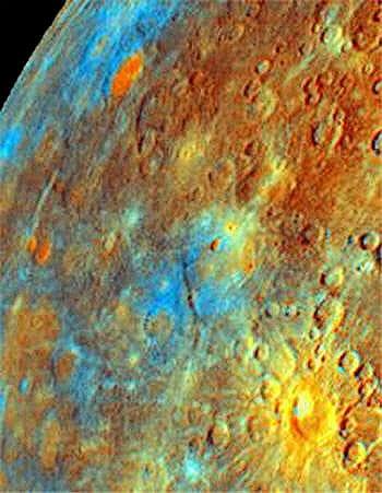 mercure affiche le plus grand écart de températures du système solaire.