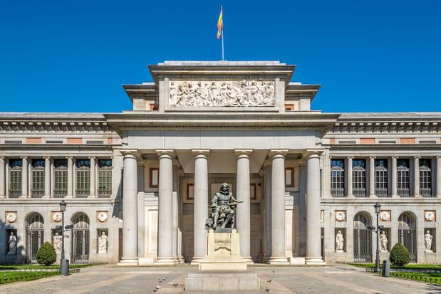 Le musée du Prado à Madrid