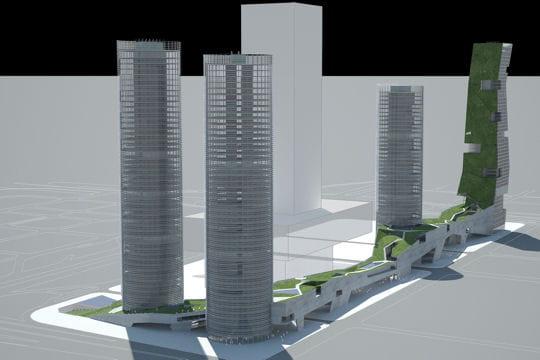 Les tours de Shenzhen