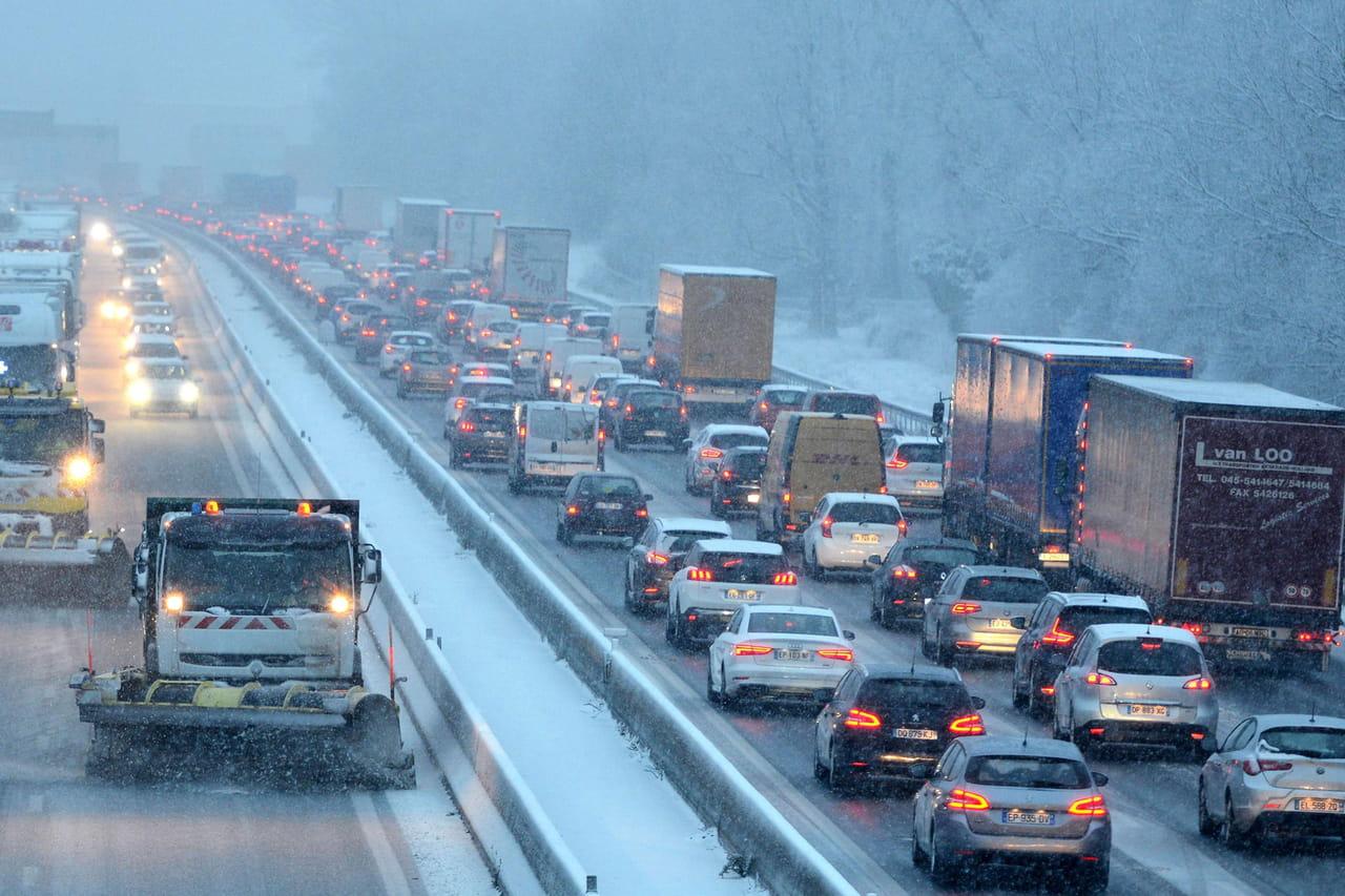 Info trafic: la N118fermée ce mercredi? Les routes bloquées par la neige