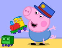 Peppa Pig : La voiture de course de George