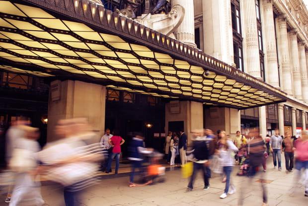 Londres, temple du shopping