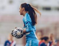 Football : Ligue des champions féminine - Bröndby IF / Lyon