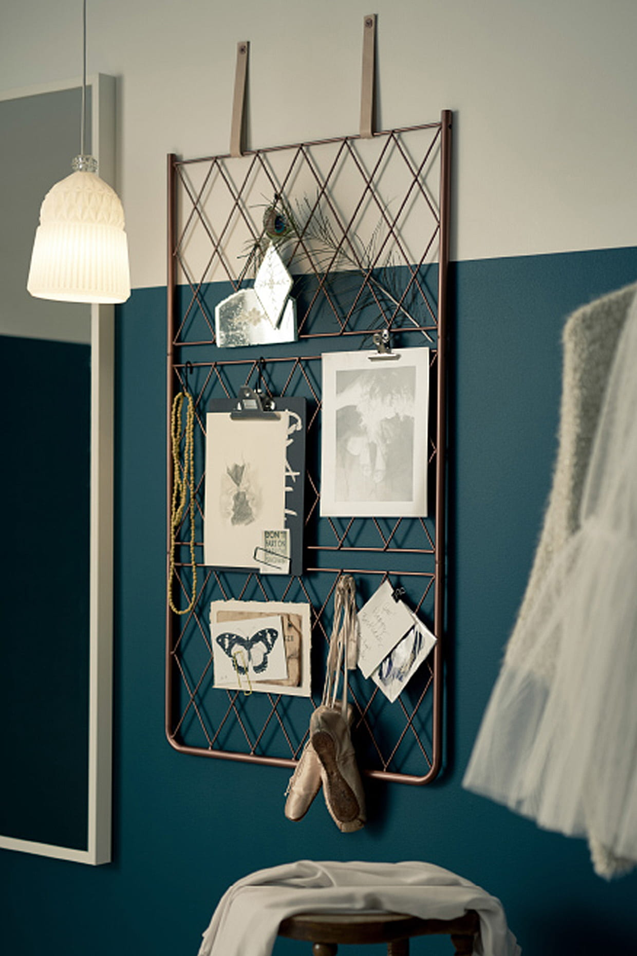 fabriquer un tableau d 39 inspiration. Black Bedroom Furniture Sets. Home Design Ideas